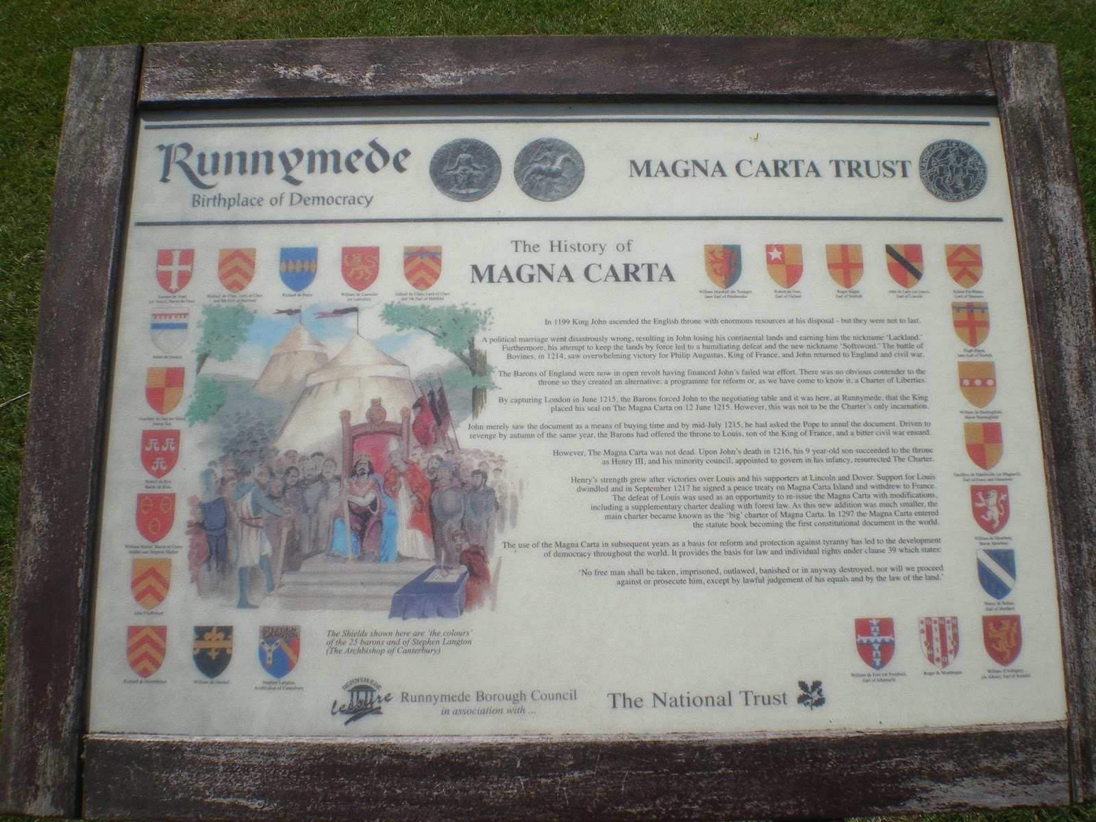 a review of the story of magna carta Magna carta band: the story so far re-releases of magna classics were selling well on cd and it was on limited release but pulled in superb reviews and.