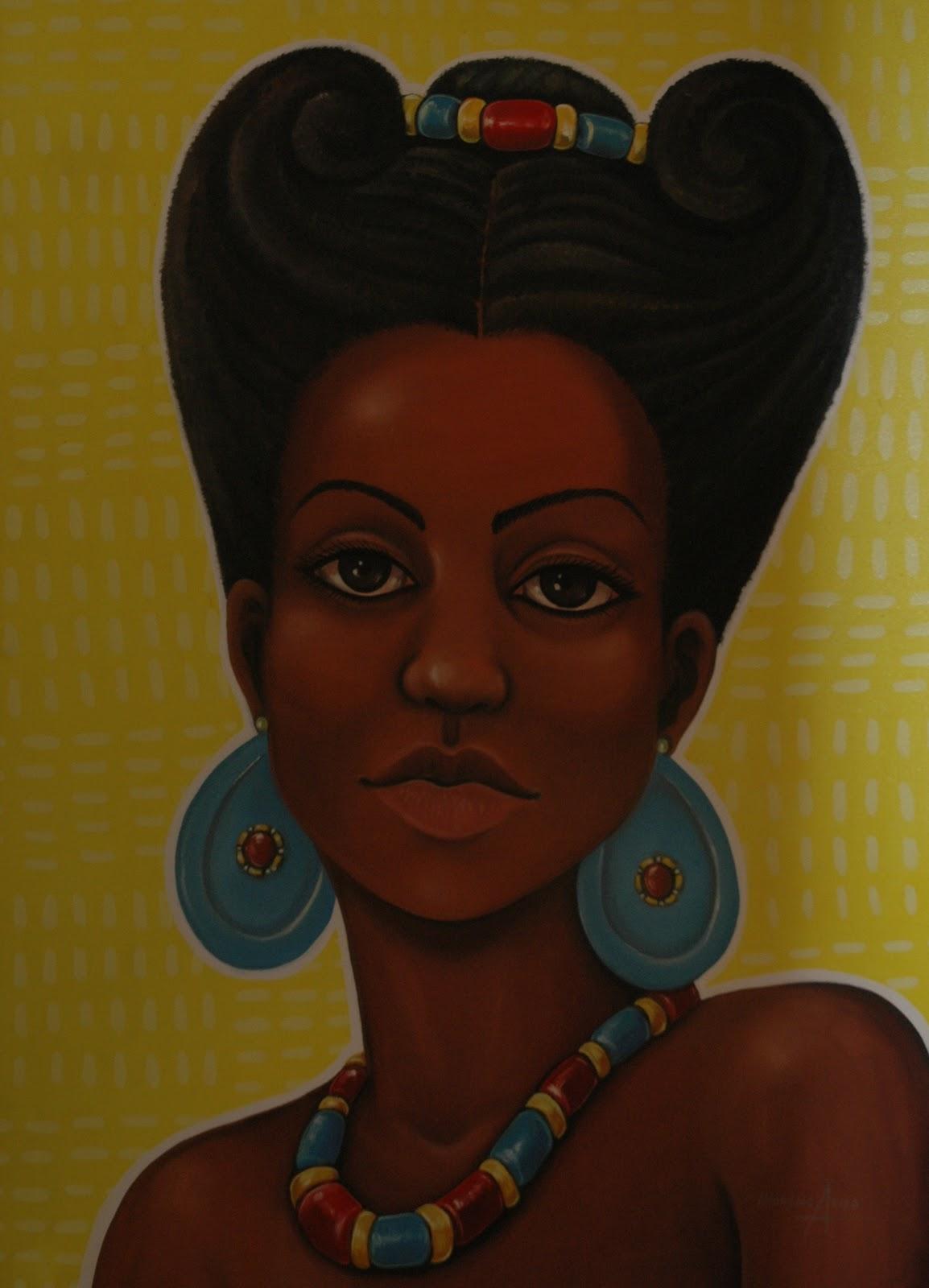Famosos Salão de Arte Afro-Brasileira do RS: PINTURA - DESENHO - FOTOGRAFIA WL47
