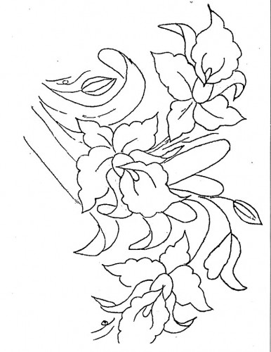 Artes da Nil - Riscos e Rabiscos: Orquideas