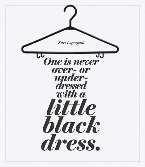Beauty And The Green The Little Black Dress A Girls Best Friend