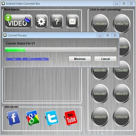 Android Video Converter Box v1.7 Portable