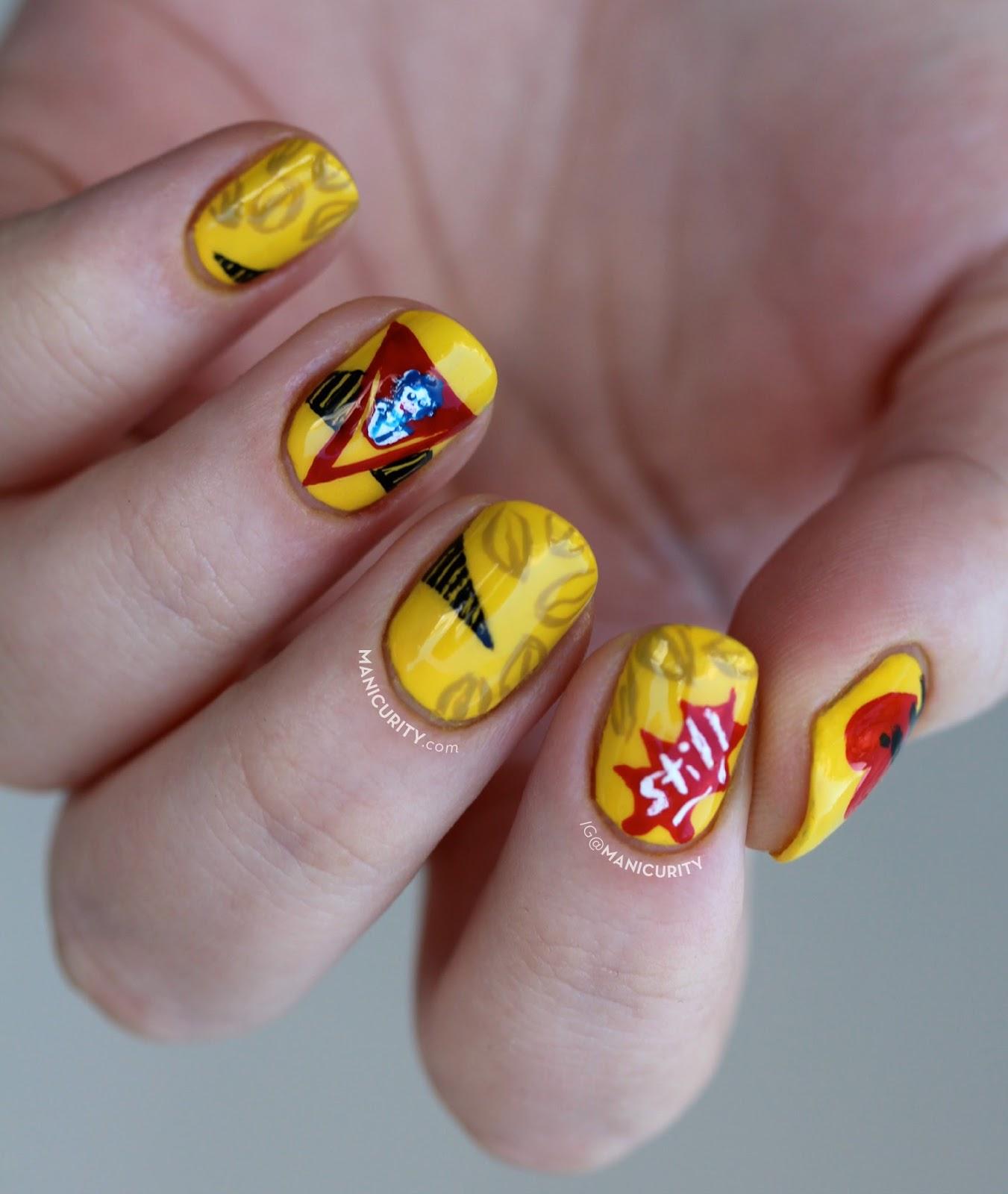 The Digit-al Dozen does Brands: Café Bustelo nail art | Manicurity.com