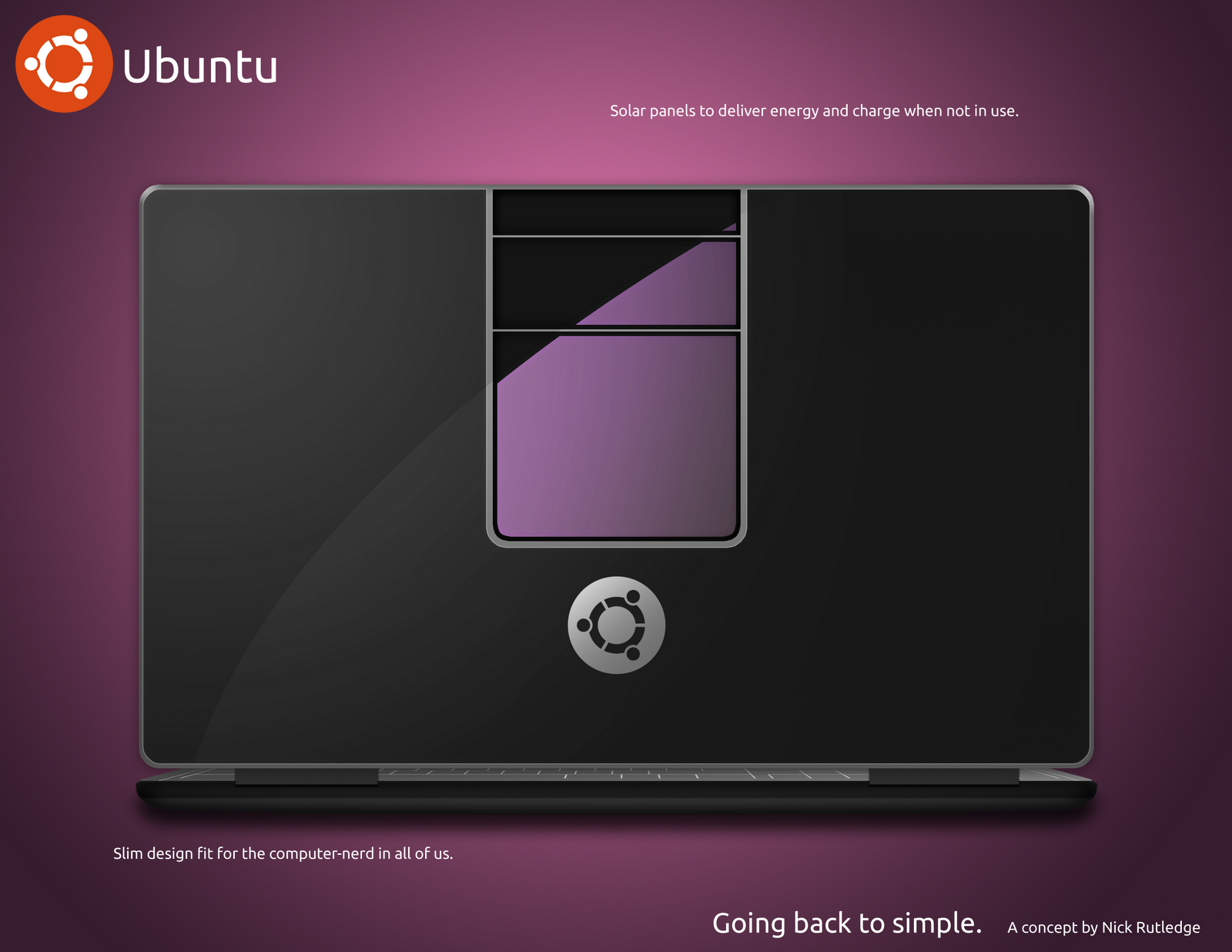 Ubuntu Laptop Design