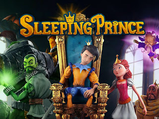 Screenshots of the The sleeping prince: Royal edition for Android tablet, phone.