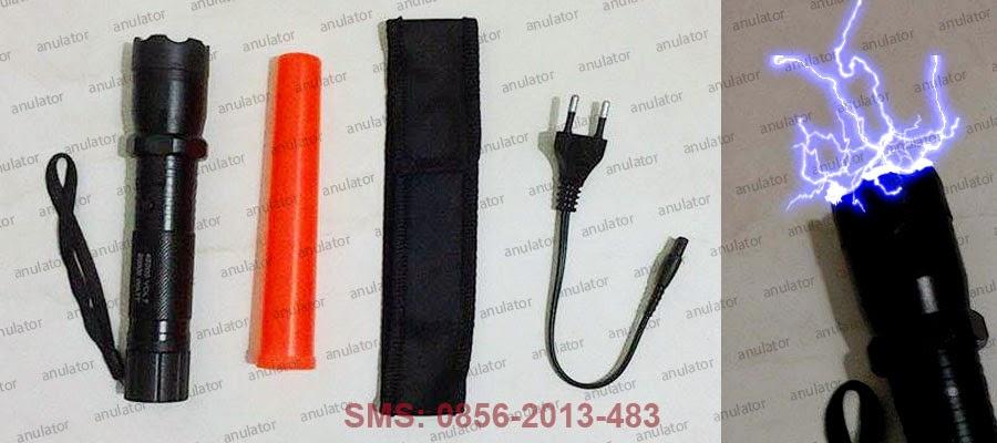 Flashlight with Electric Shock Stun Gun
