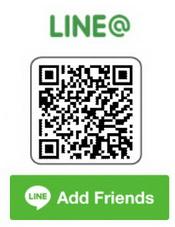 LINE @ ช่องทางไลน์ติดต่อเรา
