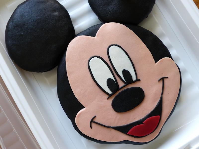Populaire Gâteau Mickey au chocolat! | Recettes pour mon bentô MW53