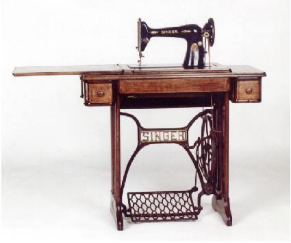 La barra de la esquina la m quina de coser for Maquinas de coser zaragoza