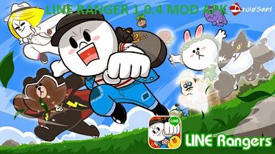 LINE Rangers 1.0.4 Mod APK