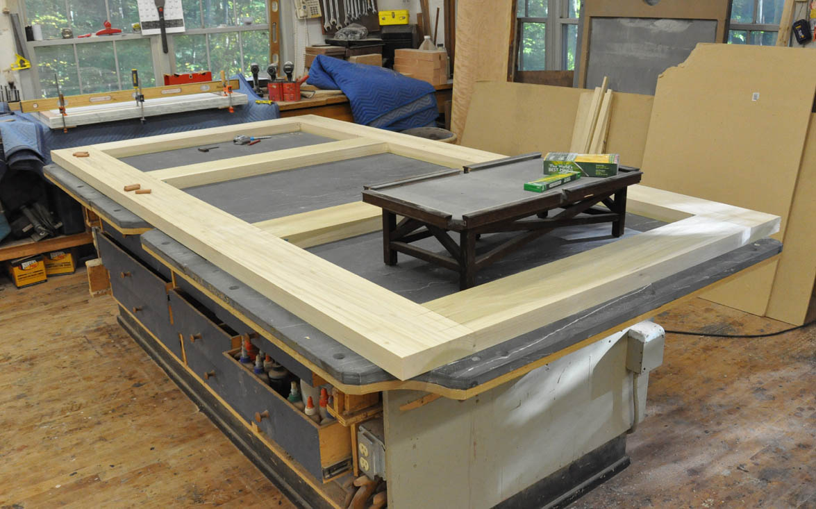 Dorset Custom Furniture A Woodworkers Photo Journal Cant Keep Up - Pool table base