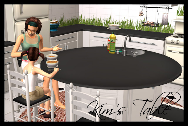 Moar Stuff For & About The Sims Kim's Table  Buggybooz. Kitchen Art.com. Kitchen Garden Vacancies. Modern Kitchen Vaulted Ceiling. Kitchen With Brown Countertops. Diy Kitchen Drawer Organizer. Kitchen Lighting Ideas For Galley Kitchen. Kitchen Tea Who To Invite. Dream Kitchens Lakewood Nj