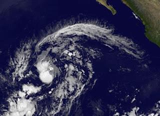 Tropischer Sturm OLIVIA ist birgt keine Gefahr für Mexiko, Olivia, Satellitenbilder, aktuell, Mexiko, Atlantische Hurrikansaison, Zugbahn, Verlauf, Oktober, 2012, Hurrikansaison 2012,