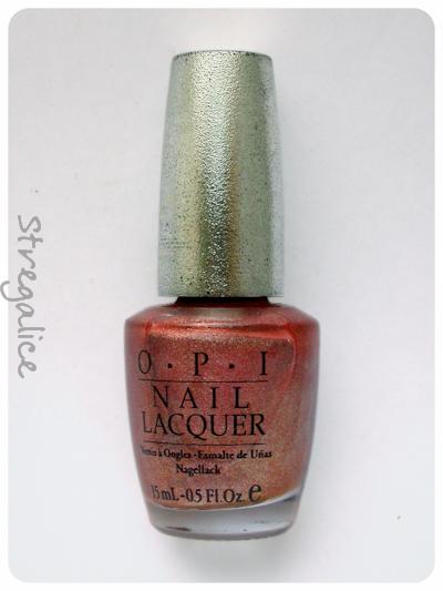 OPI DS Vintage holographic coral