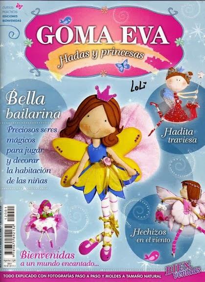 Como hacer hadas y princesas en goma eva - Revistas de ...
