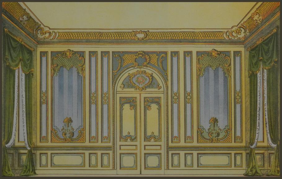 Th Century Rococo Room Design