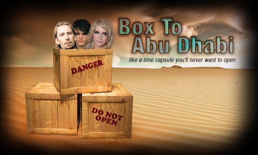 Box To Abu Dhabi