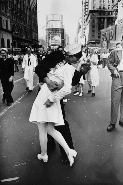 V-J Day in Time Square