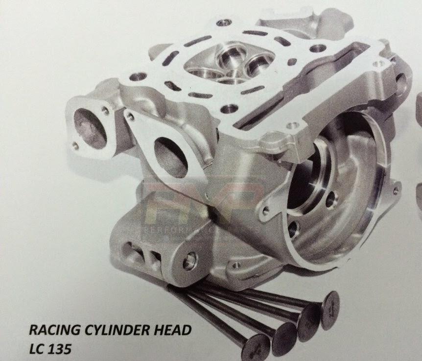 Head Racing Shark Racing Cylinder Head