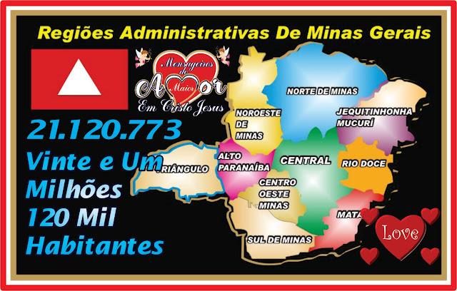Regiões Administrativas de Minas Gerais