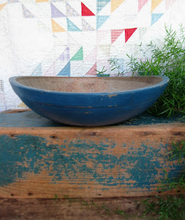 old dough bowl new milk paint