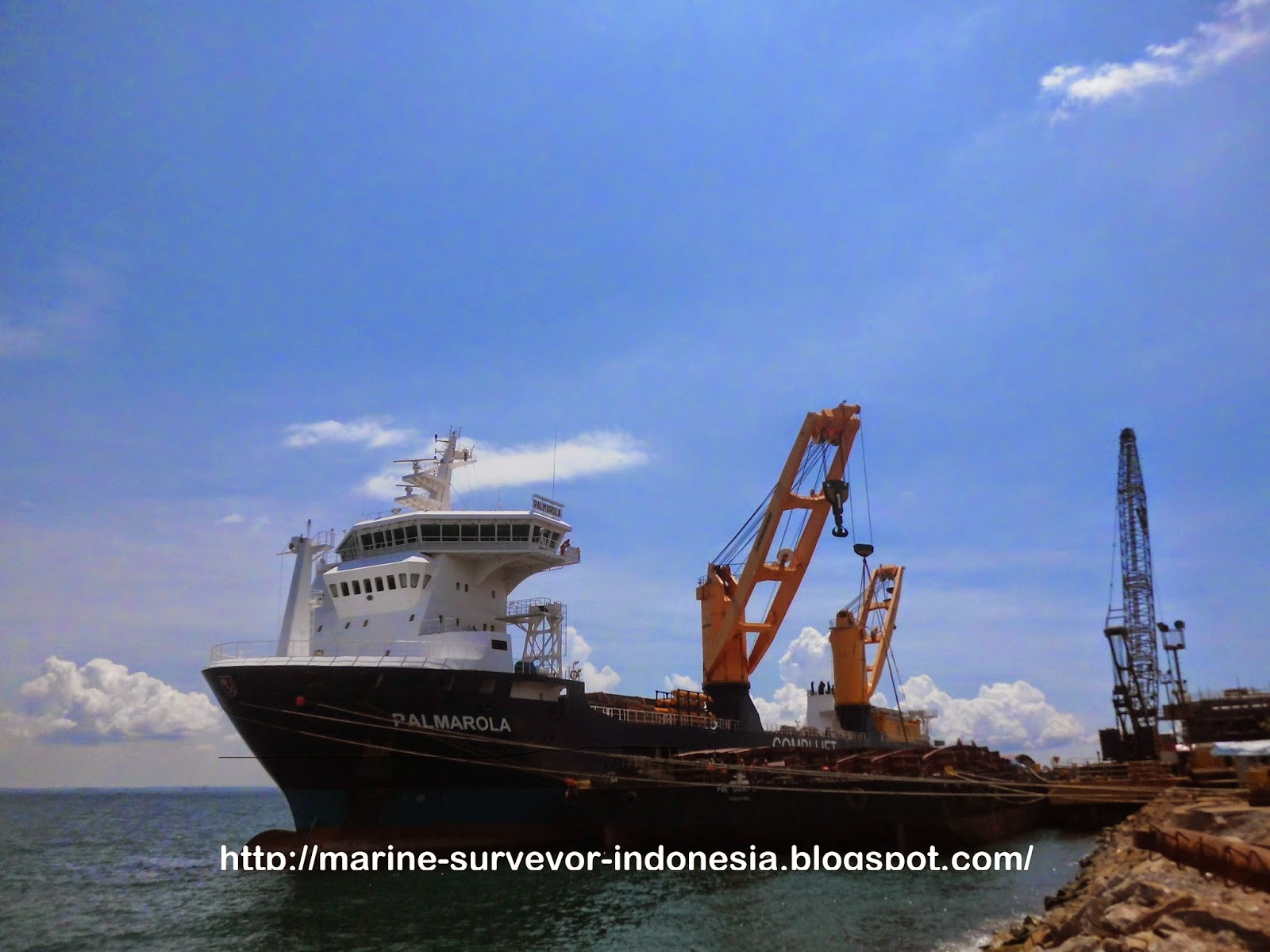 Pre-Loading Survey & Measurement Survey Kapal Palmarola
