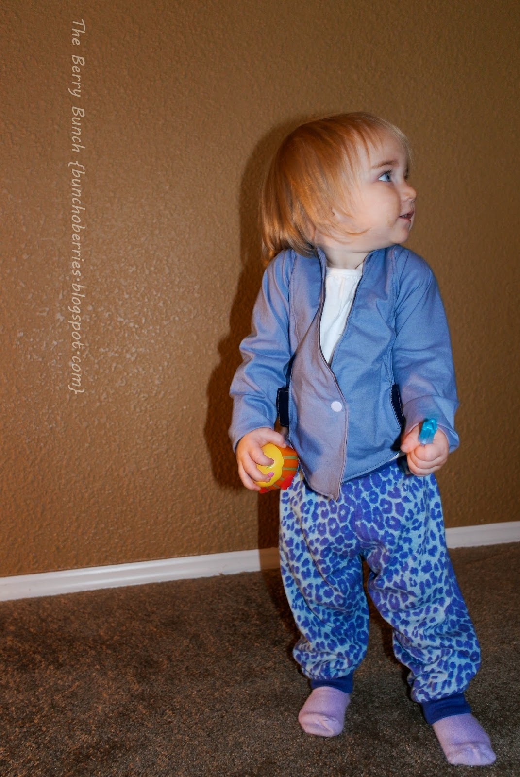 Winter Wear Designs Phresh Blazer & EYMM Free Style Pants - Girl's Bundle Up Blog Tour: The Berry Bunch
