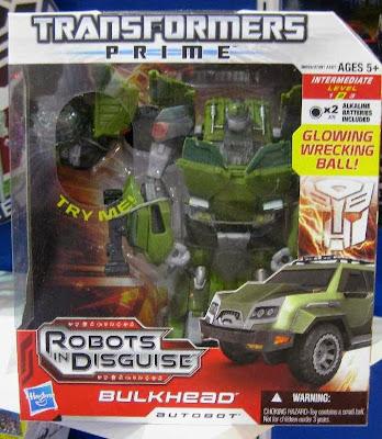 Transformers Prime Bulkhead Voyager