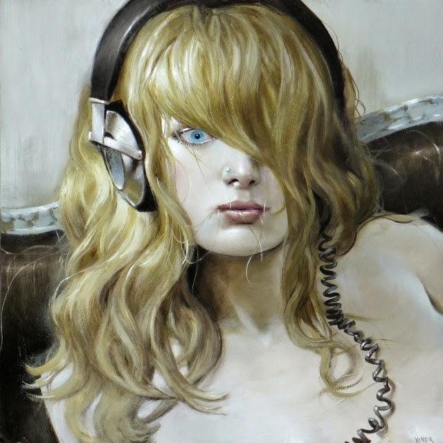 Американский художник. Jonathan Weiner