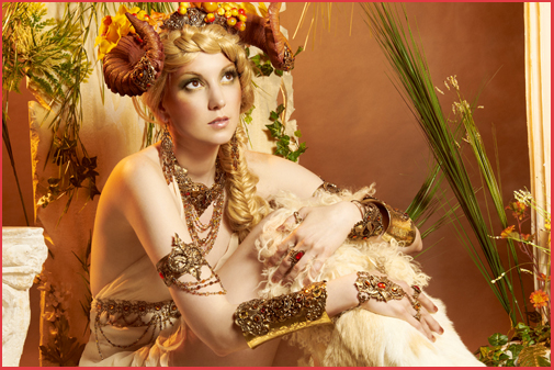 Mythologie Antique Bijoux Cornes Pan Faune Bacchante Ménade Faunesse Female Faun Jewels Mythology Jewelry
