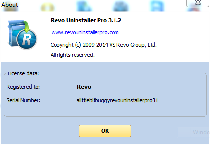 Revo Uninstaller Pro 3.1.1 Full Crack