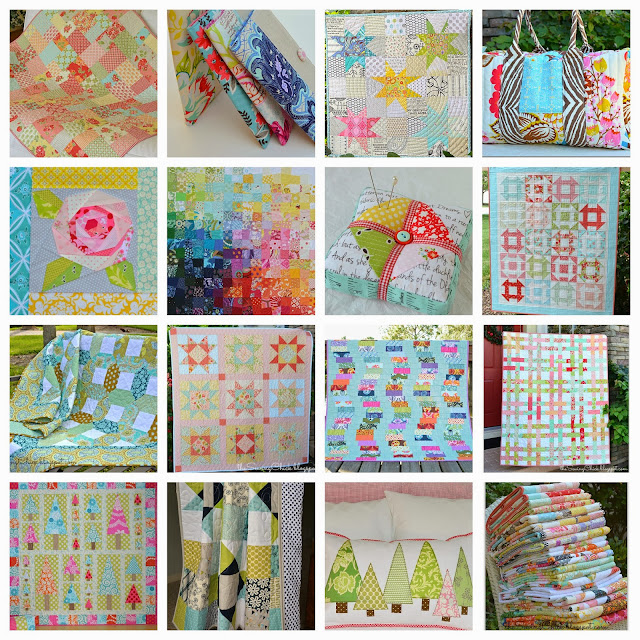 2013 collage of quilts by the sewing chick