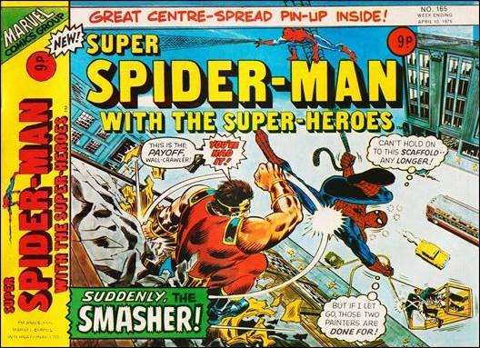 Super Spider-Man with the Super-Heroes #165