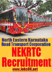 Jobs in NEKRTC Recruitment North Eastern Karnataka Road Transport Corporation