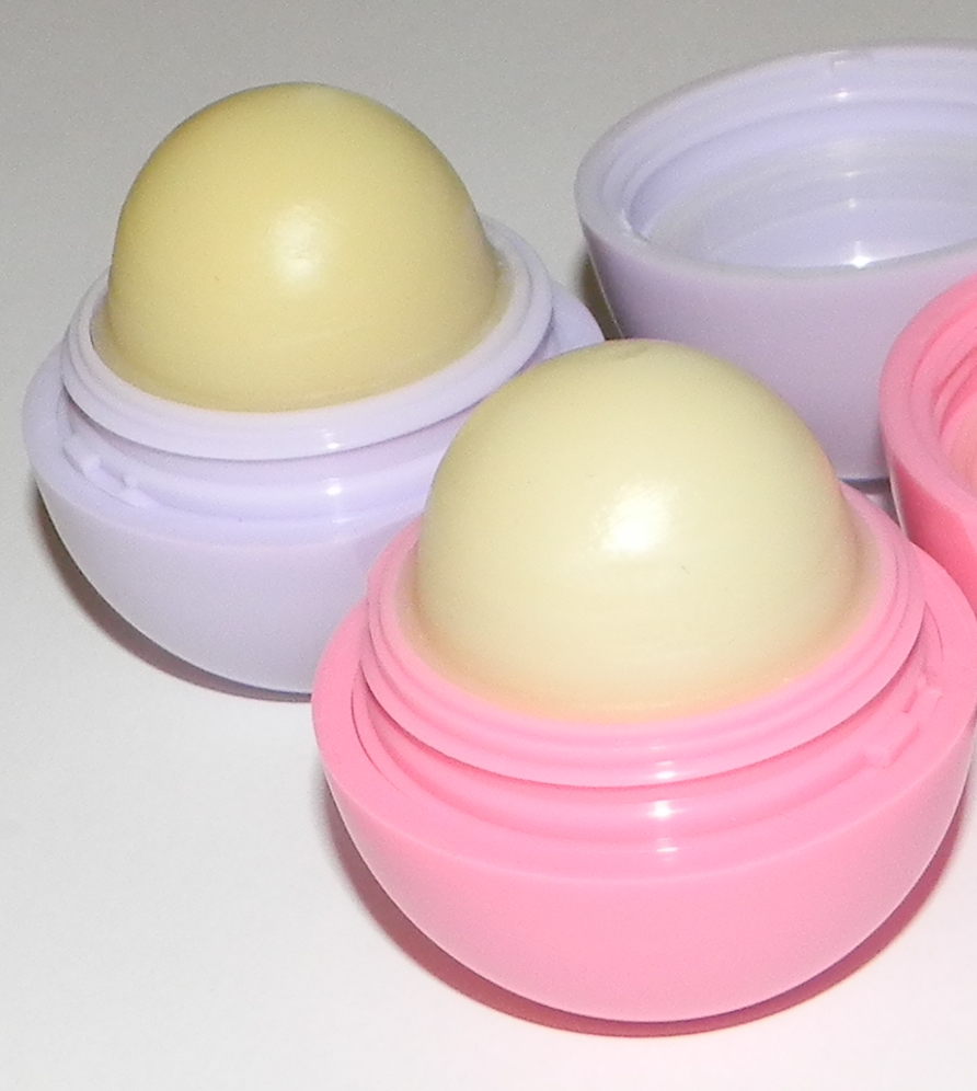 Purple eos lip balm flavor