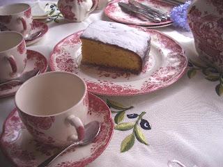 Las recetas de amatxu la hora del te tea time for Como se pone la mesa