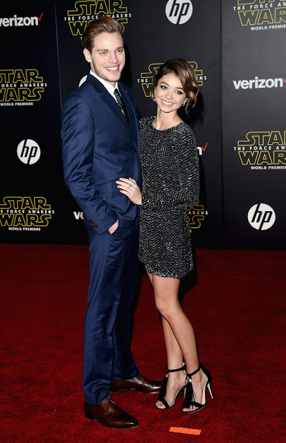 "Actress, @ Sarah Hyland - premiere of ""Star Wars: The Force Awakens"" in Hollywood"