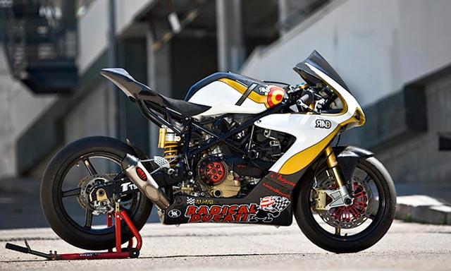 Foto Modifikasi Motor Ducati Street Fighter