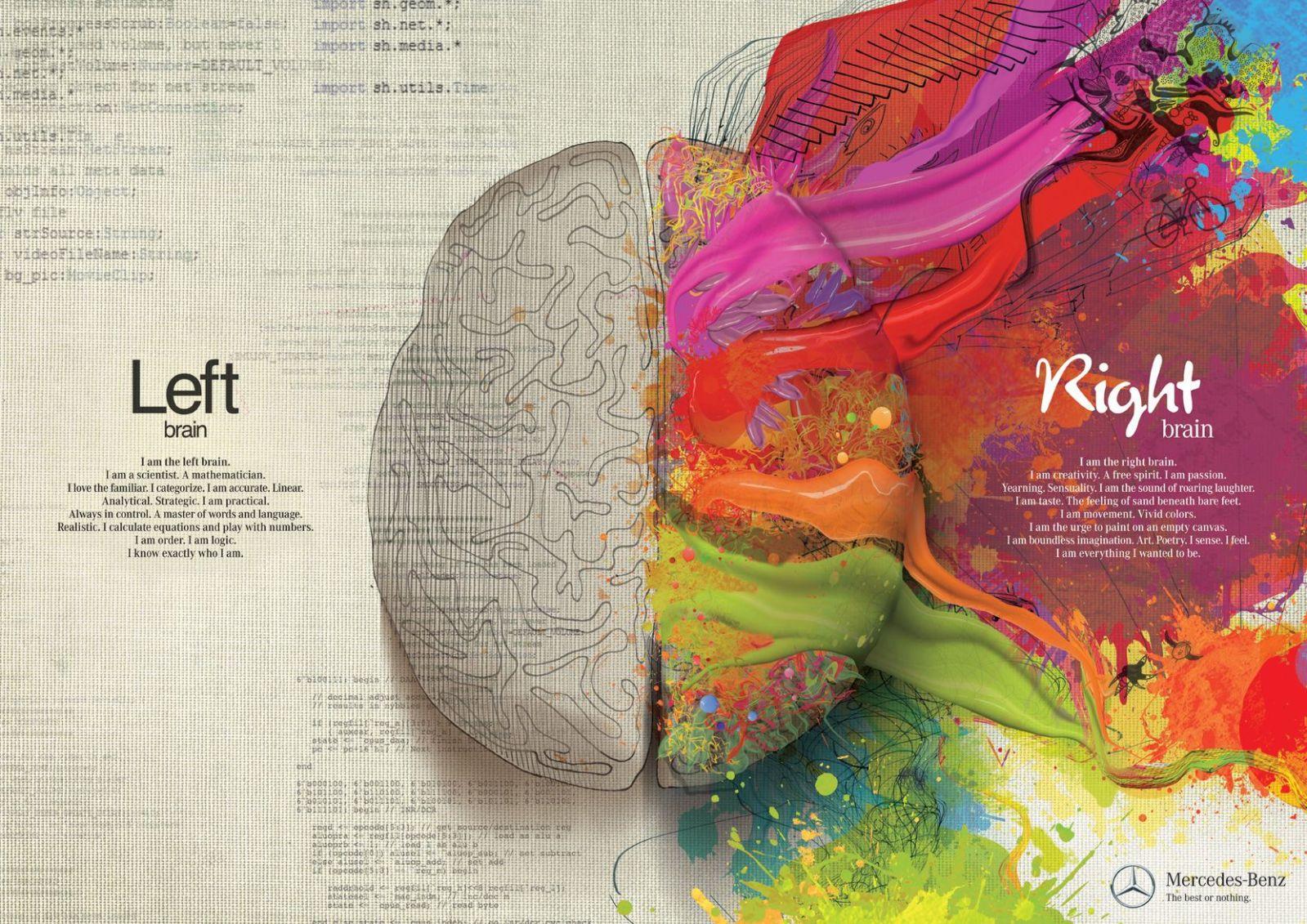 center brained