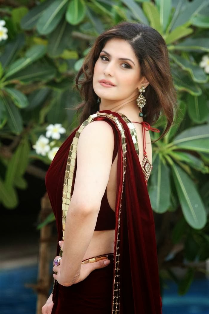 Zarine Khan Latest Saree stills gallery