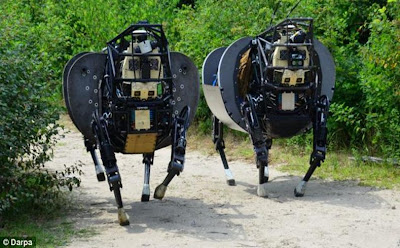 U.S ARMY WANTS TO GIVE WAR ROBOTS MORE POWER TO MAKE THEIR OWN DECISIONS