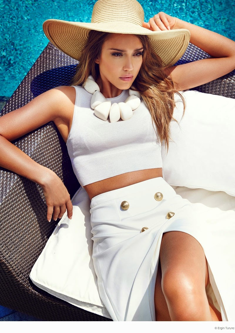 Jessica Alba - Cosmopolitan Turkey August 2014