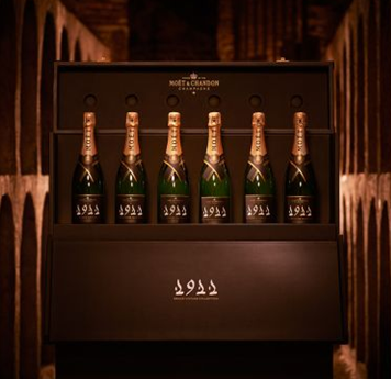 photos of moet and chandons final coffret of grand vintage 1911