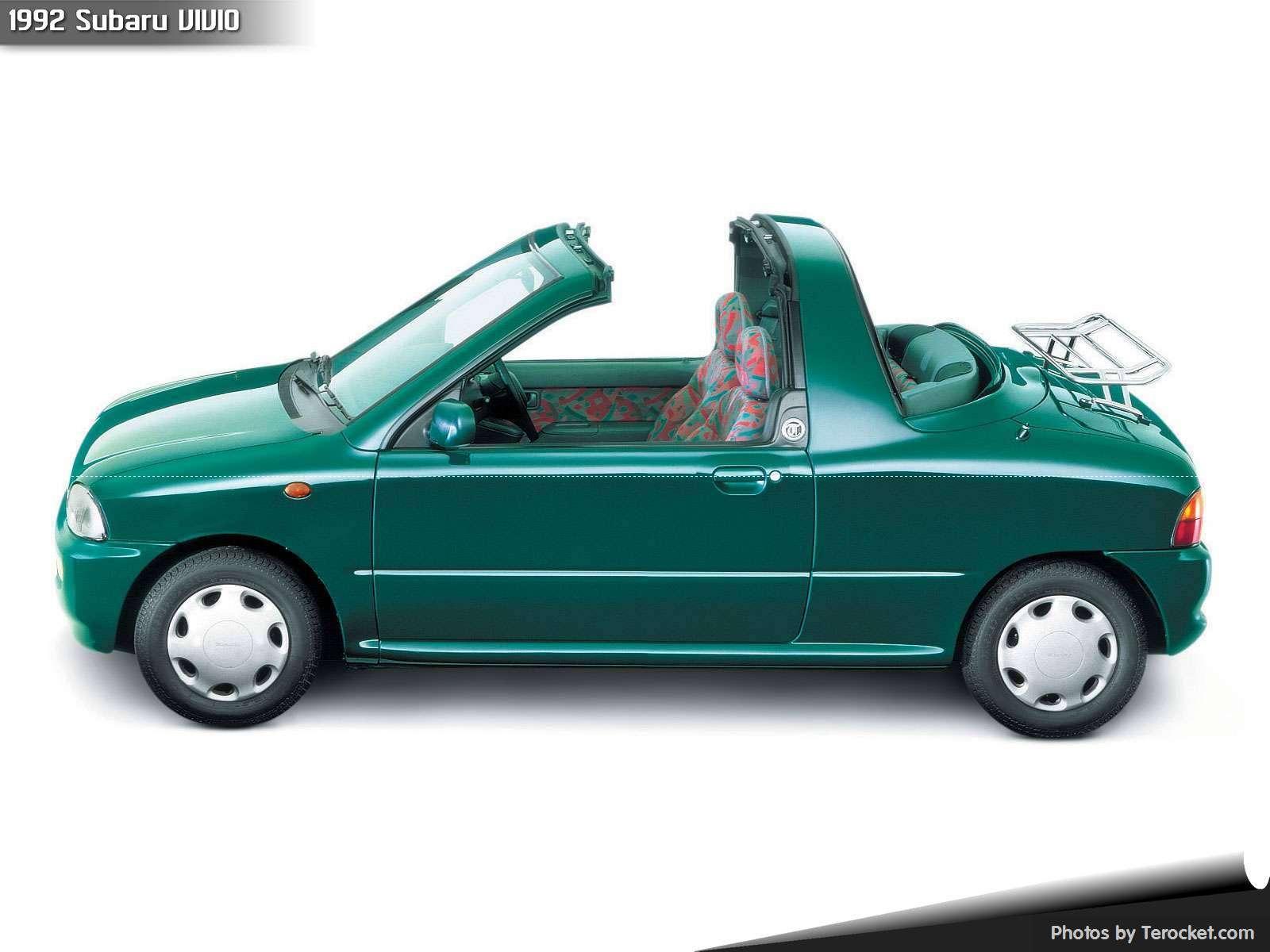 Hình ảnh xe ô tô Subaru VIVIO 1992 & nội ngoại thất