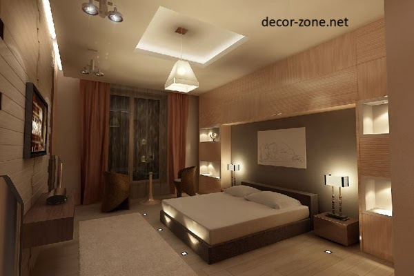 9 master bedroom decorating ideas for Bedroom lights decor