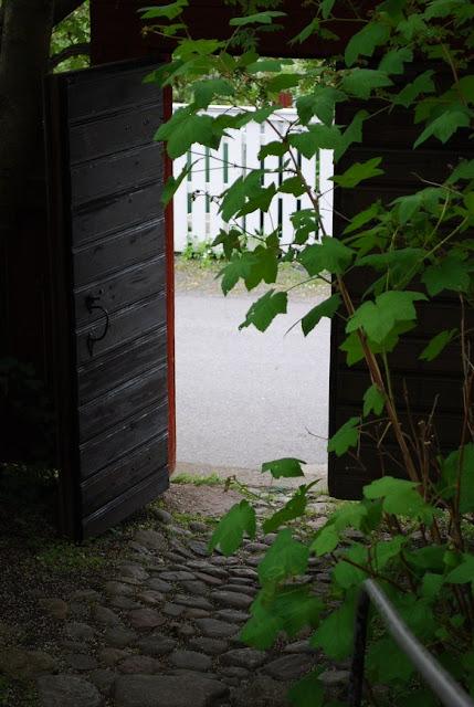 Öppna portar i Kristinestad - porten är öppen