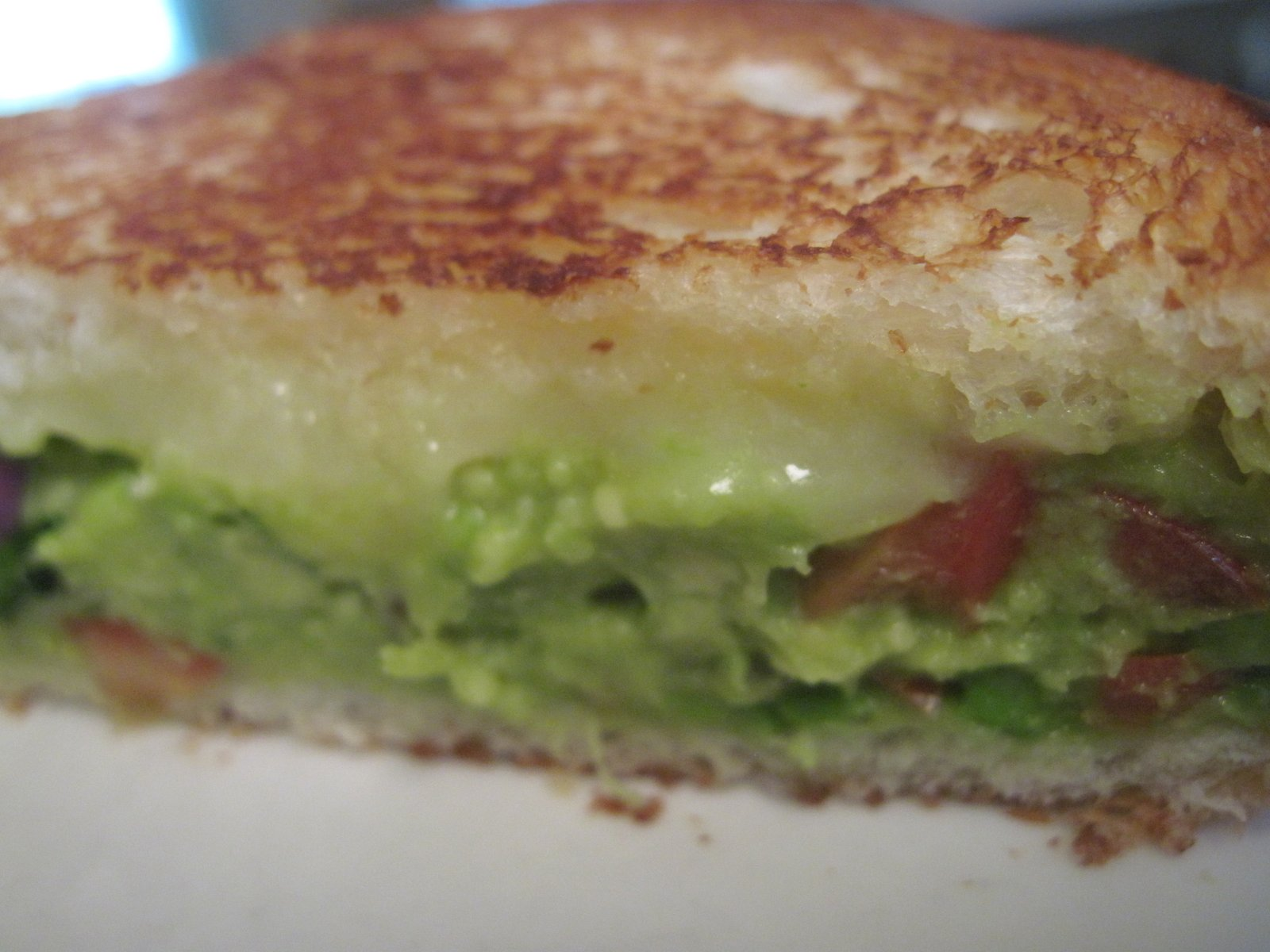 Moore or Less Cooking: Guacamole Grilled Cheese Sandwich