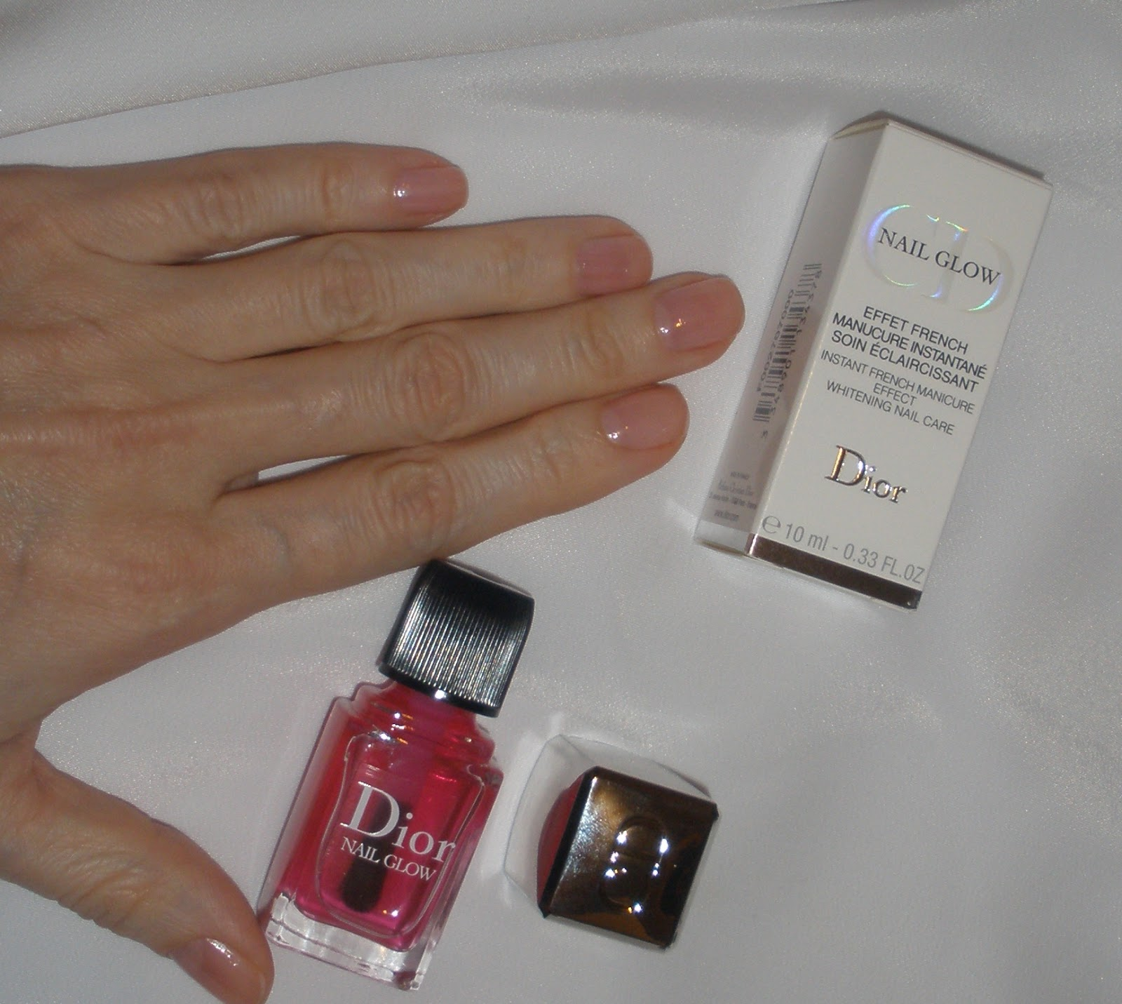 Dior nail glow лак для ногтей