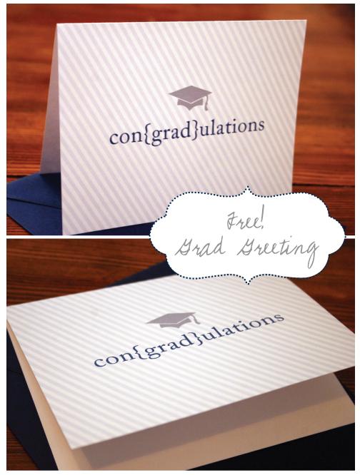 greeting card printable: