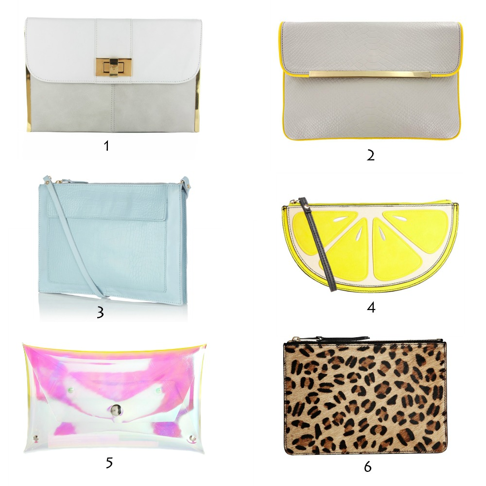 Top Six Clutch Bags