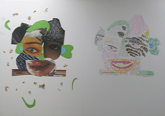 Trabajo del Taller Infantil de la Academia de dibujo y pintura Artistas6 de Madrid